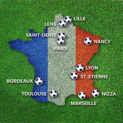 Fussball EM 2016 in Frankreich